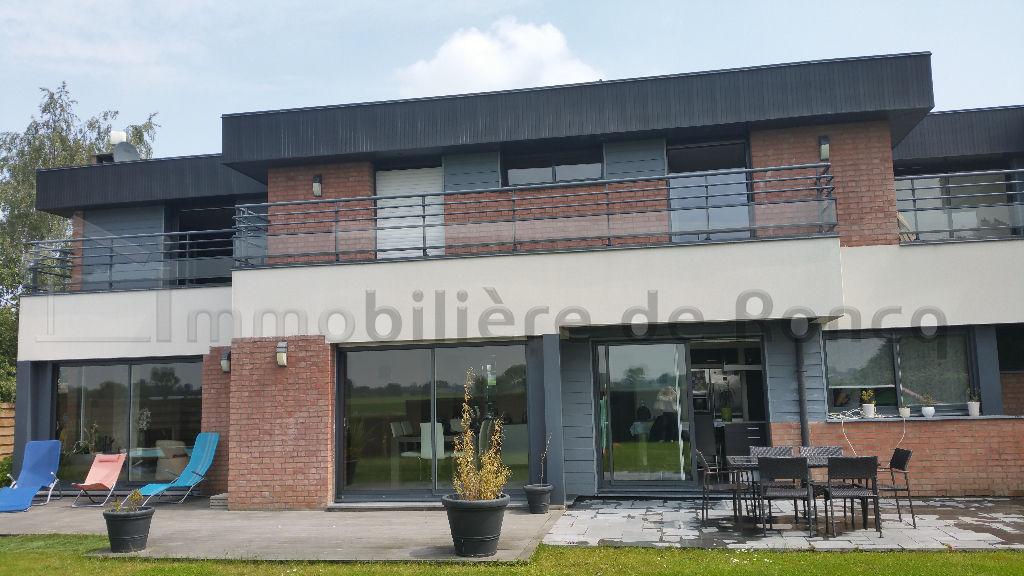 maison cubique a vendre villeneuve d'ascq